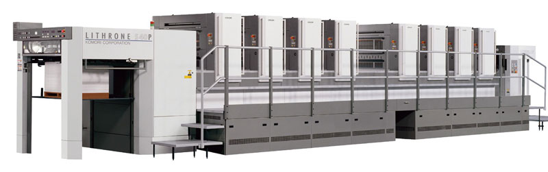 Komori Lithrone S840 (4+4)