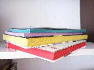 Dorure sur tranche - jaspage couleur unie pulsio print