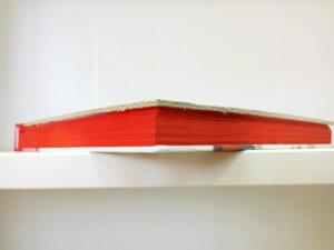 Imprimer dorure sur tranche - jaspage couleur unie rouge pulsio print
