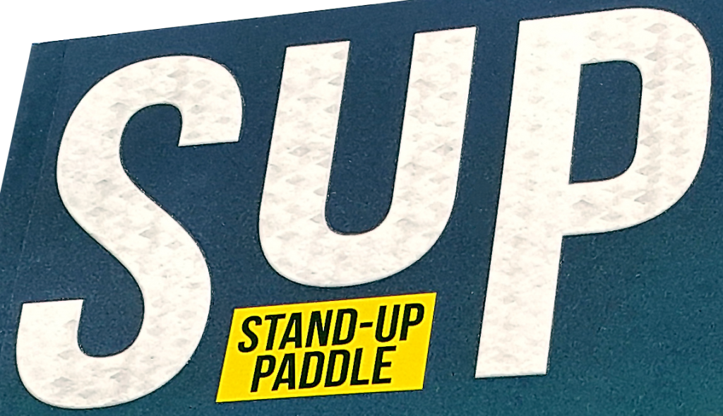 Stand up Paddle vernis effet sable