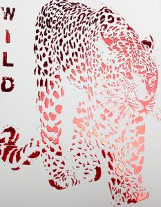 Silk Foil couleur rouge