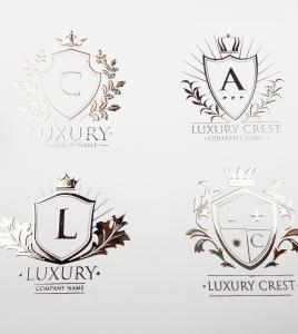 Silk Foil dorure gold pour les logos