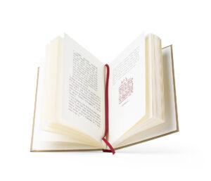 signet rouge livre rigide