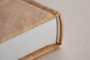 tranchefile blanche livre rigide
