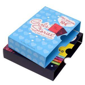 imprimer boite pour collection de livres